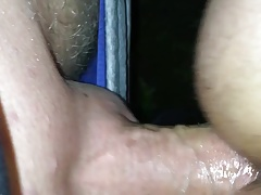 Getting fucked raw in the park by a stranger