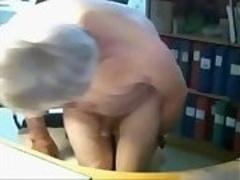 Grandad loves the cybersex