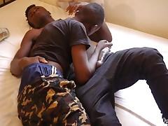 Africans Rick and Jordan Bareback