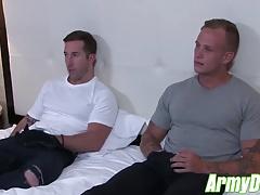 Zack Matthews and Brad Powers ramming hard at home