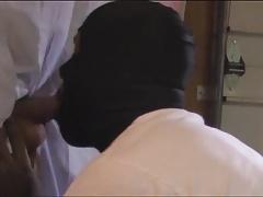 Black Thug Swallow Hung White Boy Cum