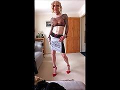 sexy minidress strip