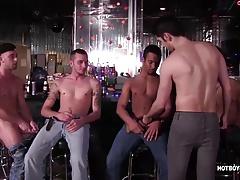 Five Boys Cock Sucking Sex Orgy