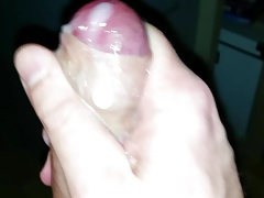 me cumming a thick load