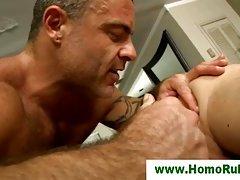 Gay straight seduction massage assplay