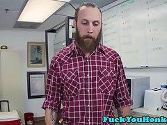Straight farmboy assfucked by black agent