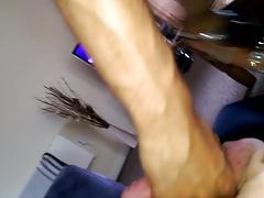 Indian Femboy Sissy on White Cock at Crossdresser Tube
