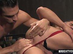 Latin boy anal and cumshot
