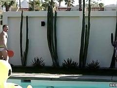 Pool side lovers - Johnny Riley, Blake Hunter