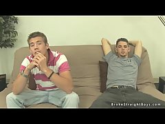 Stripped Guys Whacking Off Together