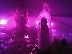TARSEN IS NAKED IN JACUZZI WITH HIS FAT COCK