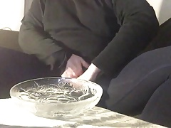 german amateur man solo with cumshot