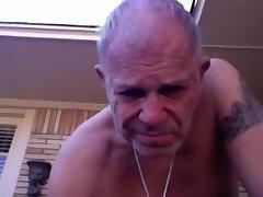 grand-dad jerk off On web camera