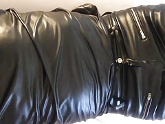 The tight feeling of my new leather pants III