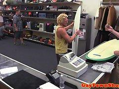 Surfer pawnee spitroasted for cash
