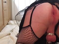 CD buttplug anal ass slut
