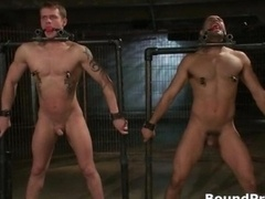 Leo and also Trent in very extreme homosexual porn