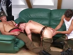 Army Threesome