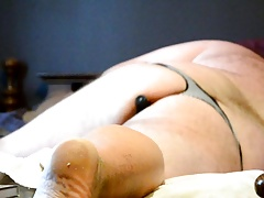 Fucking My Ass With Wife's Dildo
