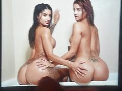 Priya and Preeti Indian Twins Ass Cum Tribute