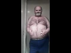 hairy bear naked