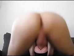 Fleshlight fuck and cum