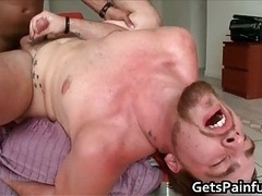 Beautiful ass wrecked by black cock 4
