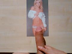 Britney Spears - Cum Tribute #1
