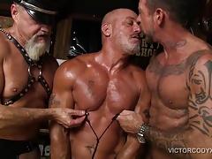 Scott Takes Two Cocks Raw