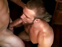 hairy muscle ass fucked