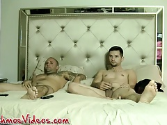 Brian Younger has threesome with Joe and Duncan Dixxx