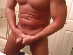Daddy loves to dance and wank before take a shower