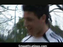 Free gay Hot teen gay latin playing football