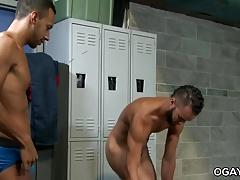 Hot gay couple Javier Cruz and Jay Alexander