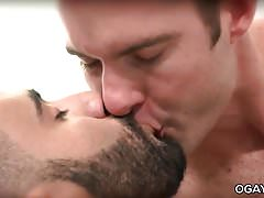 Passionate gay sex