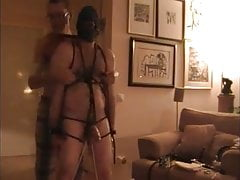 tied, whipped and wanked