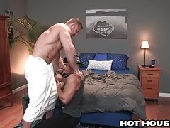 Sean Zevran Punished by Austin Wolf's Hot Daddy Dick