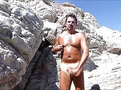 Cabo 2018 Speedo Bulge Beach Jerkoff and Cum