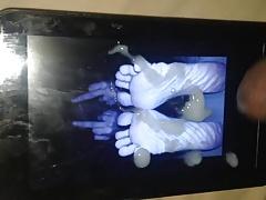 Gotsole feet cum tribute 3 (rub it in)