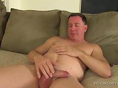 Big Dick Carloas Jacks Off