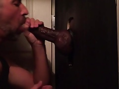 Visitor of big black Dick (bareback)