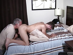 Dad Seduces Sexy Straight Jock Into First Time Anal