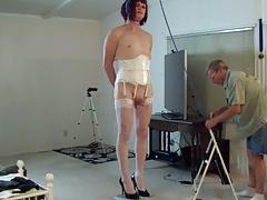 Michelle on the stool 1