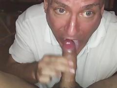 CIM blowjob and cum swallowing 6