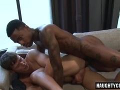 Hot gay bareback and cumshot