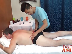 Old dude needs a full erotic massage with good real anal