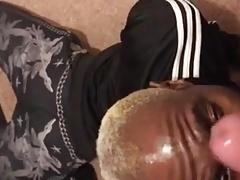 Verbal White Thug Gives Black Bitch Facial