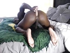 Black Slut with a Bubble Ass