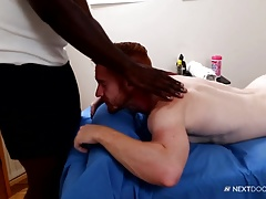 NextDoorEbony Redhead Topped by Masseur with BBC