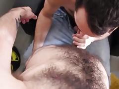 Hairy guys having a good fuck